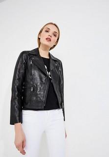 Куртка кожаная Karl Lagerfeld