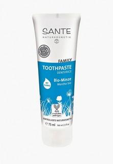 Зубная паста Sante с Мятой и Фтором, 75 мл
