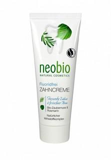 Зубная паста Neobio без фтора, 75 мл