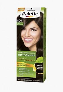 Краска для волос Palette ФИТОЛИНИЯ 800 Темно-каштановый, 110 мл