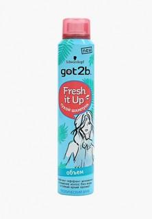 Сухой шампунь Got2B Fresh it Up, парфюмированный объем, Тропический бриз