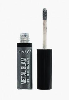 Тени для век Divage Жидкие Metal Glam Eye Tint № 01