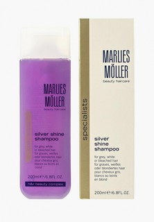 Шампунь Marlies Moller Specialist для блондинок против желтизны волос 200 мл