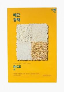 Маска для лица Holika Holika тканевая против пигментации Pure Essence рис