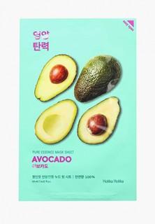 Маска для лица Holika Holika тканевая Смягчающая Pure Essence авокадо