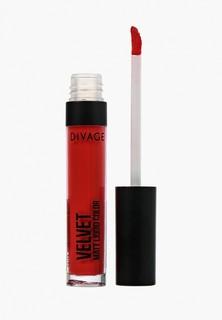 Помада Divage Жидкая Матовая Liquid Matte Lipstick Velvet № 05