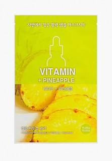 Маска для лица Holika Holika тканевая увлажняющая Ampoule Essence витамины