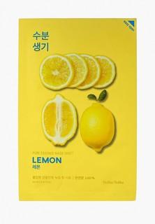 Маска для лица Holika Holika тканевая Тонизирующая Pure Essence лимон