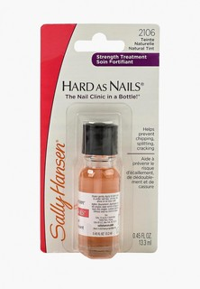 Средство для укрепления ногтей Sally Hansen Nailcare для укрепления hard as nails helps strengthen nails natural tint