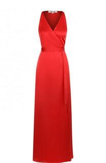 Платье-макси с запахом и поясом Diane Von Furstenberg