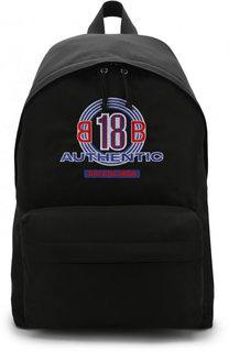 Текстильный рюкзак с аппликацией Balenciaga