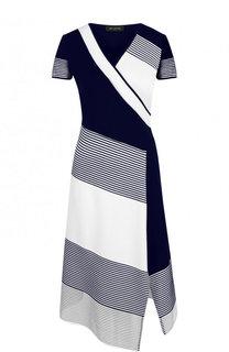 Платье-миди асимметричного кроя с разрезом St. John