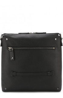 Кожаная сумка-планшет Valentino Garavani Rockrunner Valentino