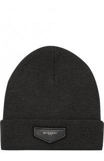 Шерстяная шапка бини Givenchy