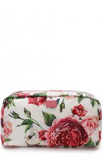 Текстильный несессер с цветочным принтом Dolce & Gabbana