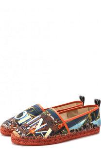 Текстильные эспадрильи Tremiti с принтом Dolce & Gabbana