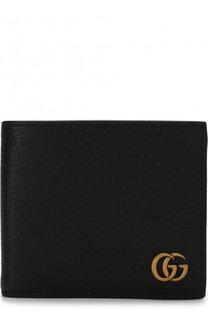 Кожаное портмоне с логотипом бренда Gucci