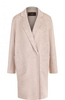 Однотонное пальто из смеси шерсти и кашемира Windsor