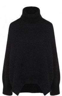 Однотонный пуловер с воротником-стойкой Valentino