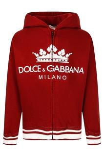 Худи с принтом Dolce&Gabbana Children