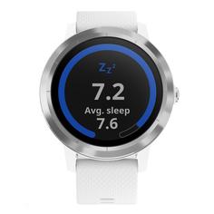 Спортивные часы Garmin Vivoactive 3 Silicone Steel/White