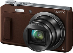 Цифровой фотоаппарат Panasonic Lumix DMC-TZ57 (коричневый)