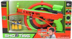 Игрушечное оружие S+S TOYS Арбалет 881-21 со стрелами и мишенью