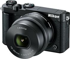 Фотоаппарат со сменной оптикой Nikon 1 J5 10-30mm PD-ZOOM (черный)