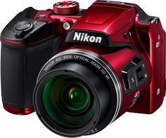Цифровой фотоаппарат Nikon COOLPIX B500 (красный)
