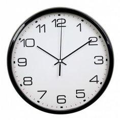 Настенные часы БЮРОКРАТ WallC-R07P, аналоговые, черный