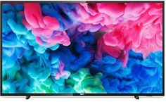 "LED телевизор PHILIPS 55PUS6503/60 ""R"", 55"", Ultra HD 4K (2160p), черный"