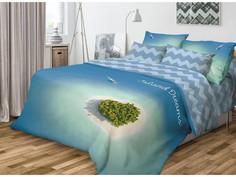 Постельное белье Волшебная Ночь Фьюжн Island Dreams Комплект 1.5 спальный Ранфорс 701989