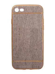 Аксессуар Чехол Liberty Project Silicone для APPLE iPhone 8 / 7 Beige Flax Gold Frame 0L-00031825