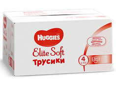 Подгузники Huggies Elite Soft 4 9-14кг 84шт