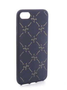 Аксессуар Чехол Liberty Project Silicone для APPLE iPhone 8 / 7 Blue-Silver 0L-00031834
