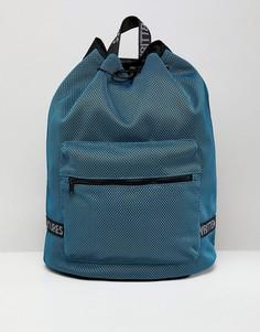 Синий сетчатый рюкзак с отделением для ноутбука ASOS DESIGN - Синий