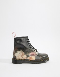 Ботинки Dr Martens x New Order 1460 - Черный