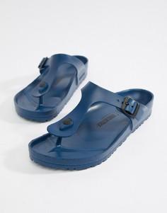 Темно-синие сандалии Birkenstock Gizeh eva - Темно-синий