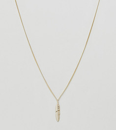Серебряное ожерелье с покрытием из 14-каратного золота Serge DeNimes - Золотой
