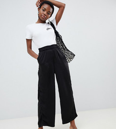 Широкие брюки Vero Moda Petite - Черный