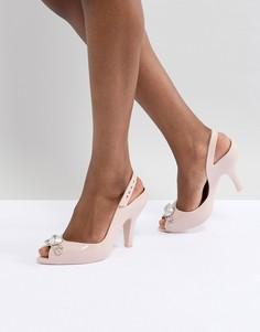 Туфли на высоком каблуке Vivienne Westwood for Melissa Lady Dragon - Бежевый