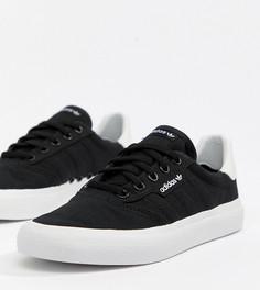Черные кроссовки adidas Skateboarding 3Mc - Черный