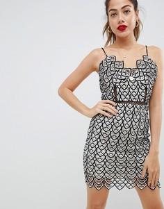 Платье мини Missguided - Черный