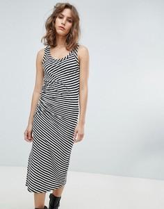 Трикотажное платье в полоску AllSaints - Мульти