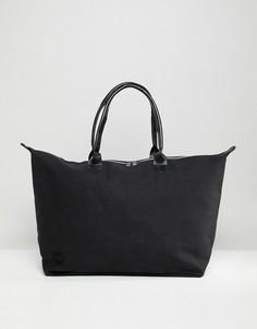 Черная парусиновая сумка Mi-Pac Weekender - Черный