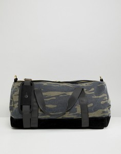 Камуфляжная парусиновая сумка дафл Mi-Pac - Зеленый