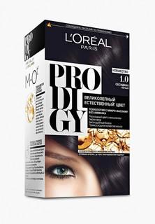 """Краска для волос LOreal Paris LOreal """"Prodigy"""" без аммиака, оттенок 1.0, Обсидиан"""