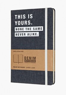 Блокнот Moleskine LIMITED EDITION DENIM