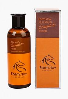 Тоник для лица Farm Stay с лошадиным маслом для сухой кожи, 200 мл