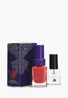 Набор лаков для ногтей Christina Fitzgerald Scarlet Алый закат